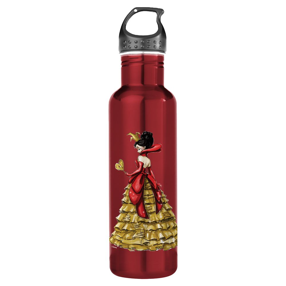 Queen of Hearts Water Bottle – Art of Disney Villains Designer Collection