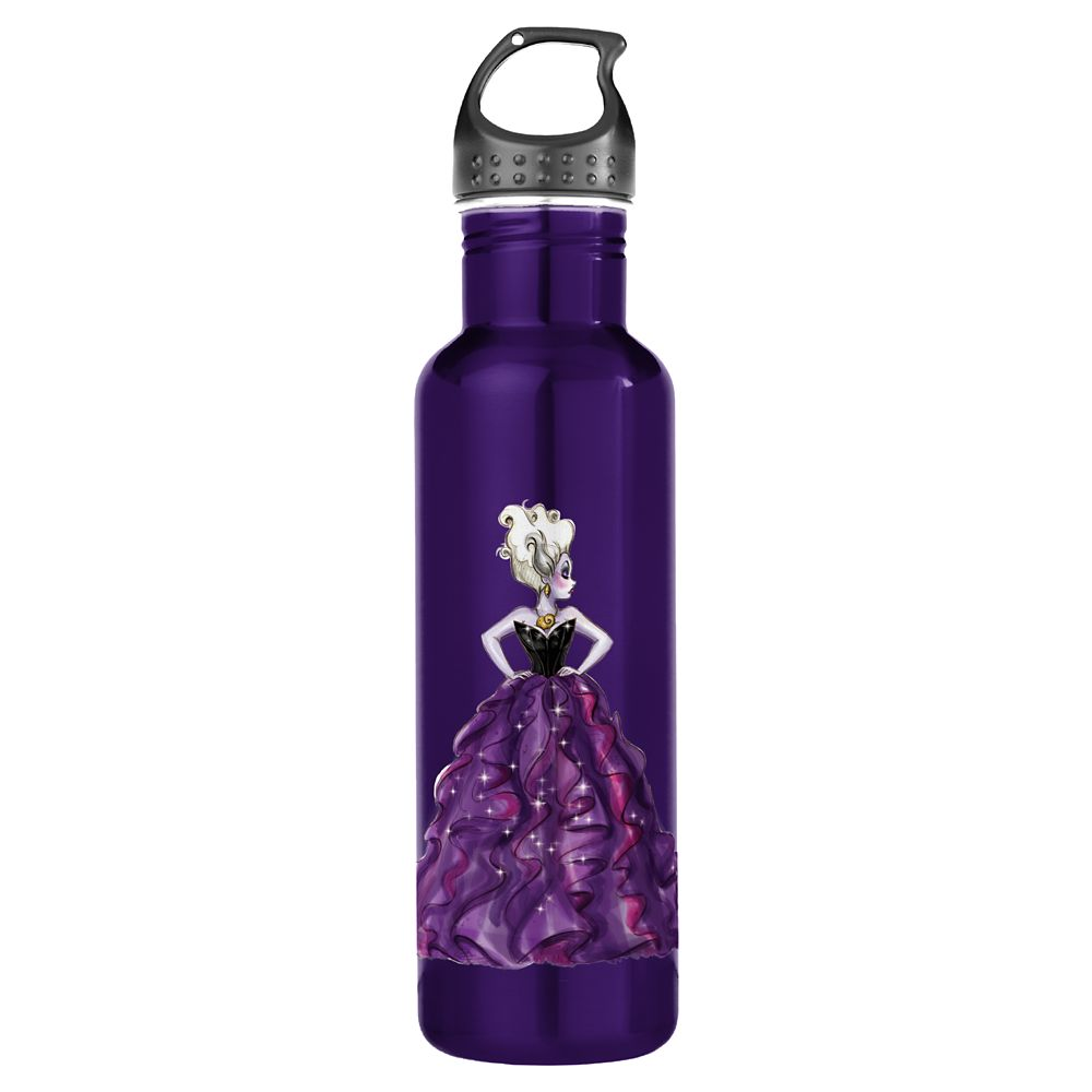 Ursula Water Bottle – Art of Disney Villains Designer Collection