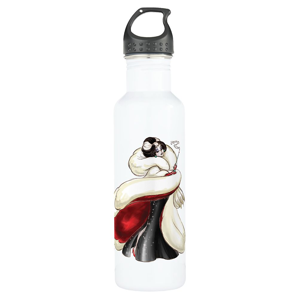 Cruella De Vil Water Bottle – Art of Disney Villains Designer Collection