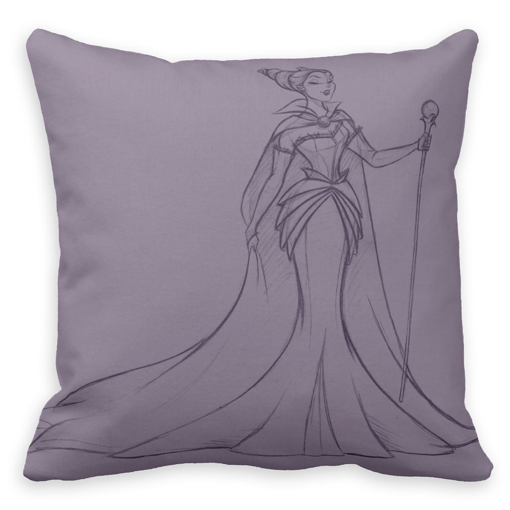 Maleficent Throw Pillow - Art of Disney Villains Designer Collection