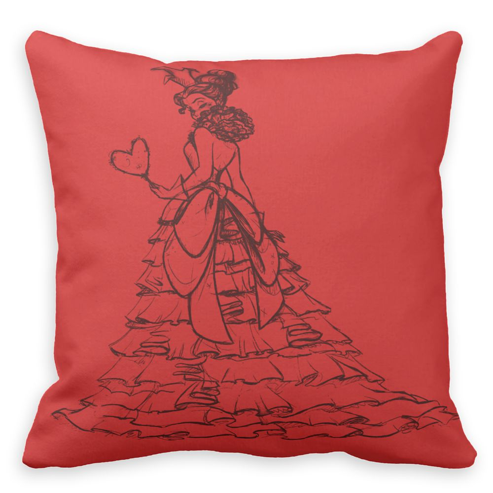 Queen of Hearts Throw Pillow – Art of Disney Villains Designer Collection