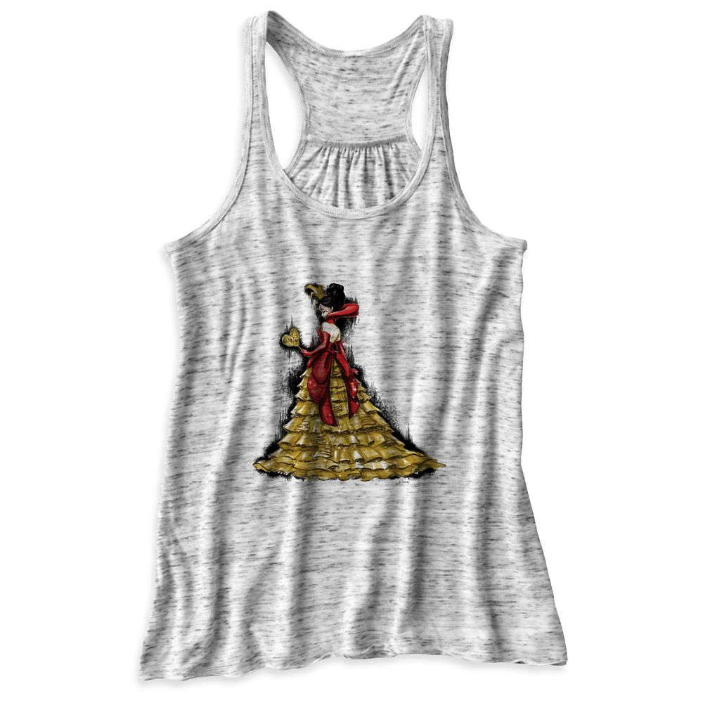 Queen of Hearts Tank Top – Art of Disney Villains Designer Collection – Women