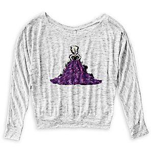 Ursula Off the Shoulder Shirt - Art of Disney Villains Designer Collection - Women