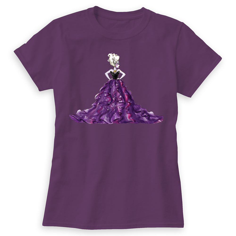 Ursula T-Shirt – Art of Disney Villains Designer Collection – Women