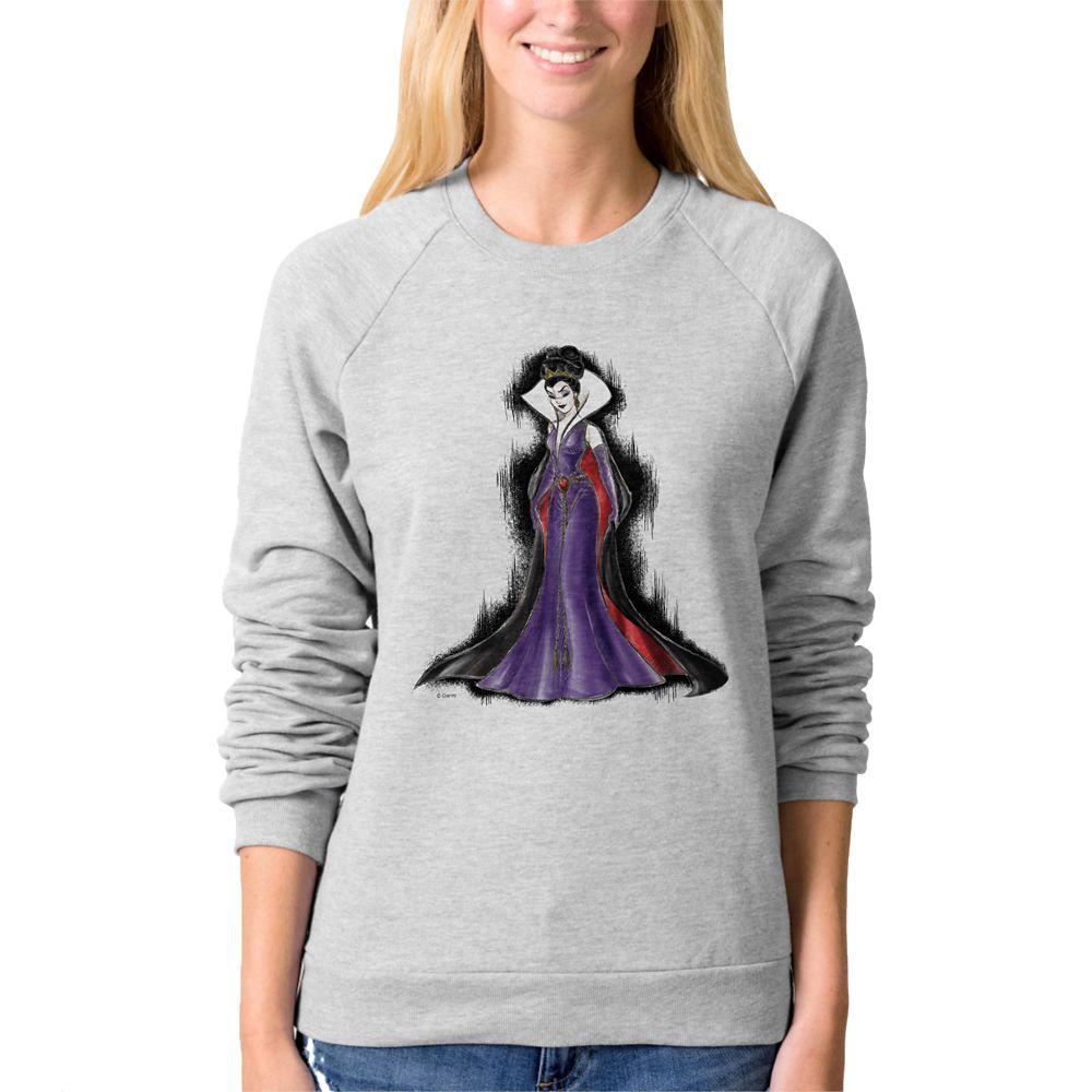Evil Queen Raglan Sweatshirt – Art of Disney Villains Designer Collection – Women