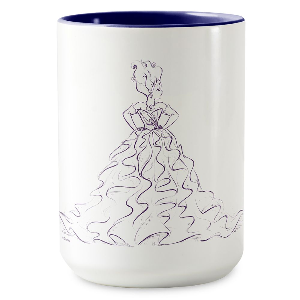 Ursula Two-Tone Coffee Mug  Art of Disney Villains Designer Collection