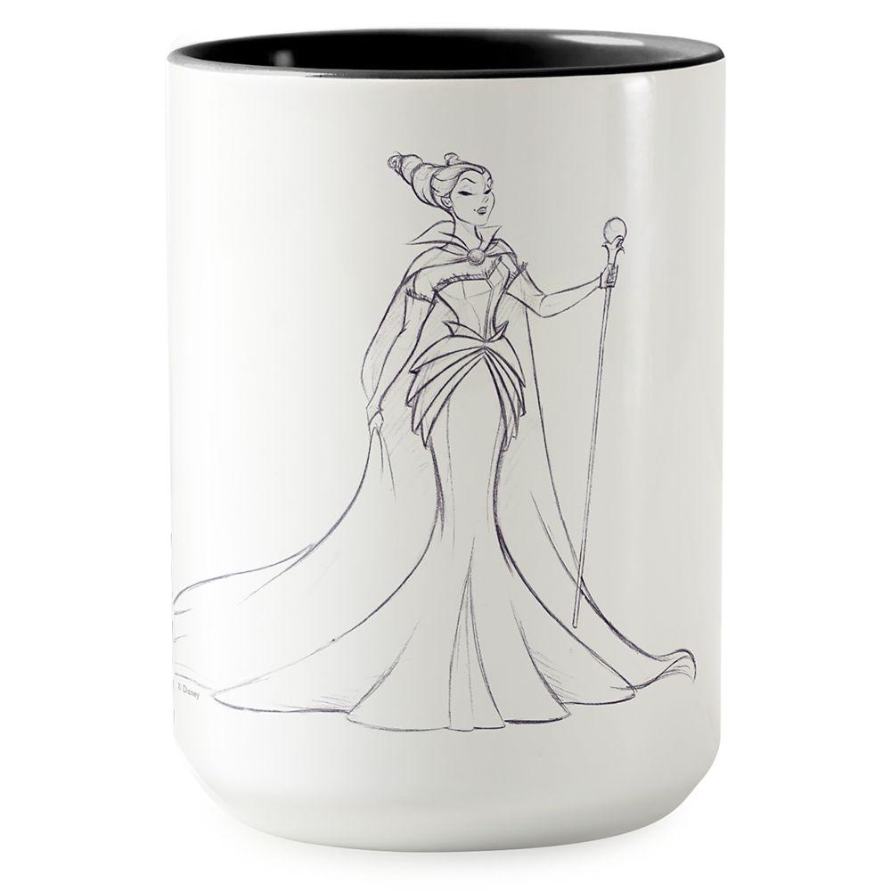 Maleficent Two-Tone Coffee Mug - Art of Disney Villains Designer Collection