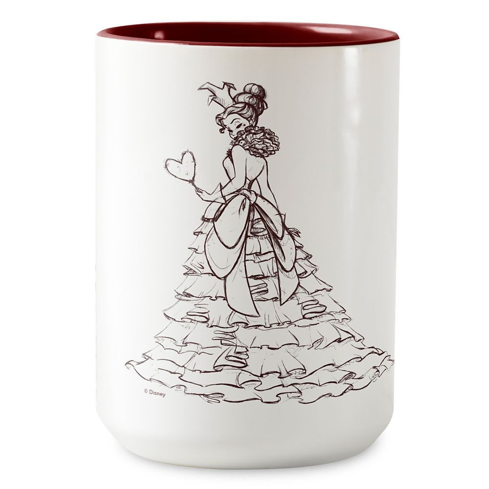 Queen of Hearts Two-Tone Coffee Mug – Art of Disney Villains Designer Collection