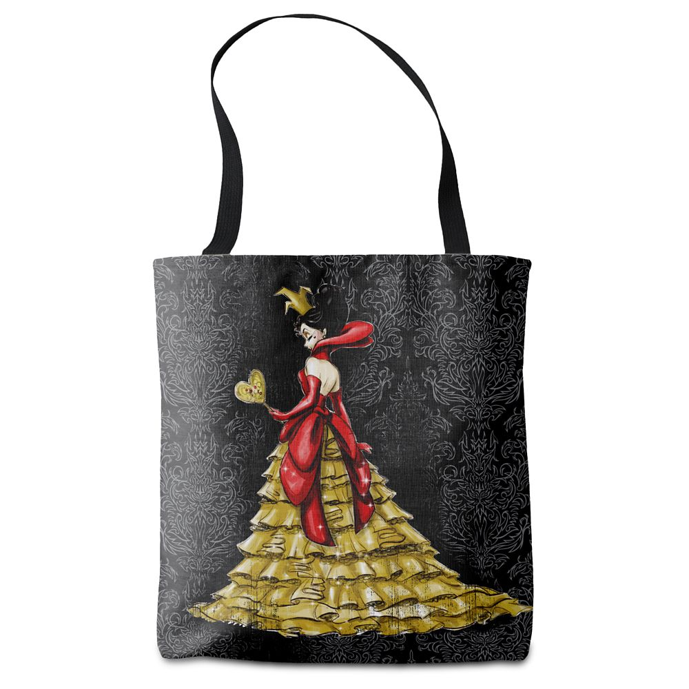 Queen of Hearts Tote Bag – Art of Disney Villains Designer Collection