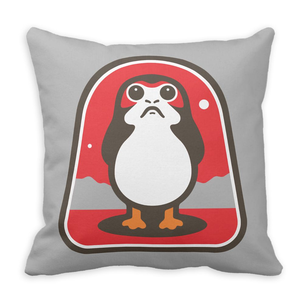 Porg Badge Pillow – Star Wars: The Last Jedi – Customizable