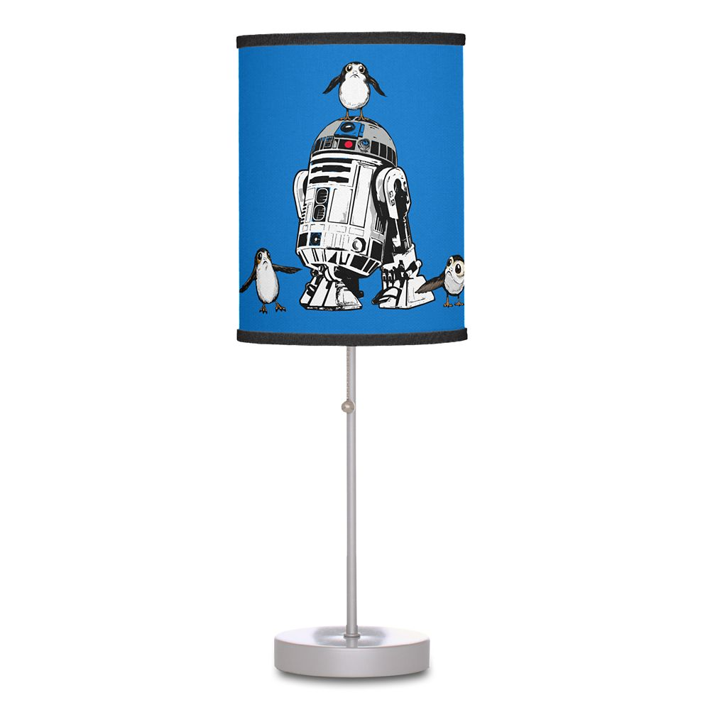 R2-D2 and Porgs Lamp – Star Wars: The Last Jedi – Customizable