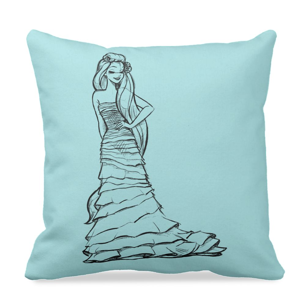 Ariel Pillow  Art of Princess Designer Collection Official shopDisney
