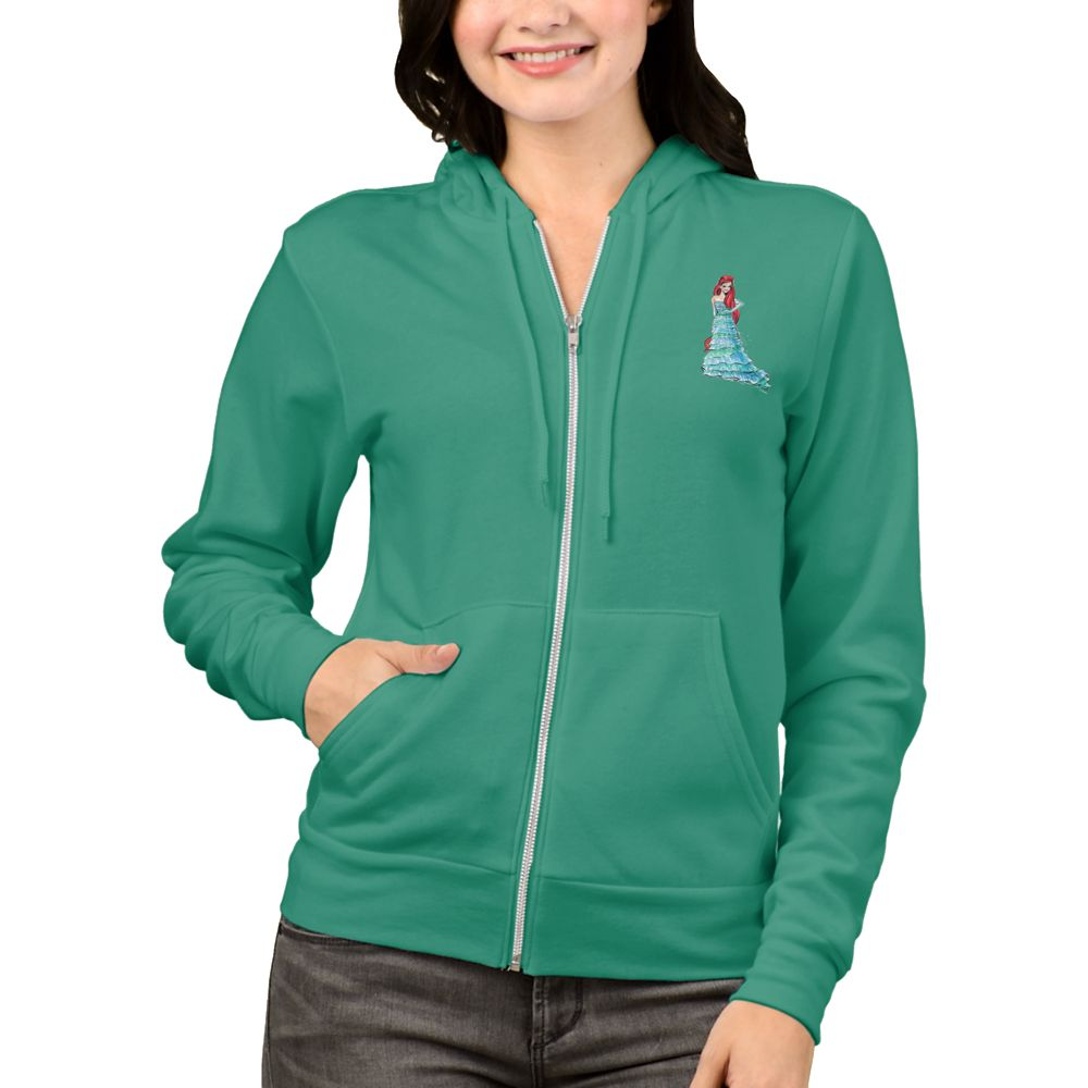 Ariel Zip Hoodie for Women  Art of Princess Designer Collection Official shopDisney