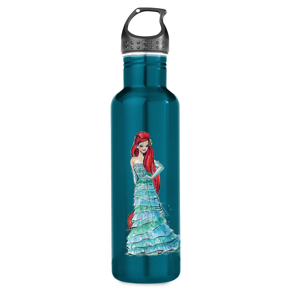 Ariel Water Bottle  Art of Princess Designer Collection Official shopDisney