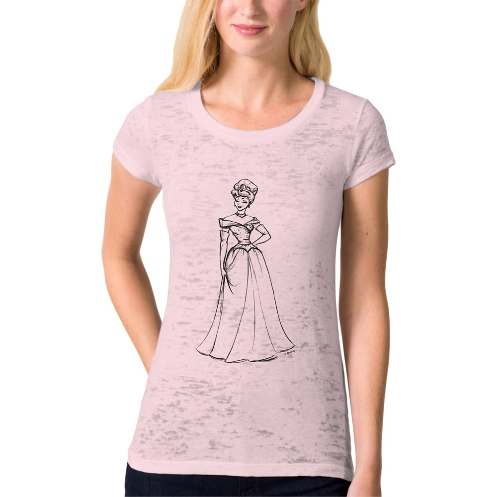 Aurora Burnout Tee for Women – Art of Princess Designer Collection