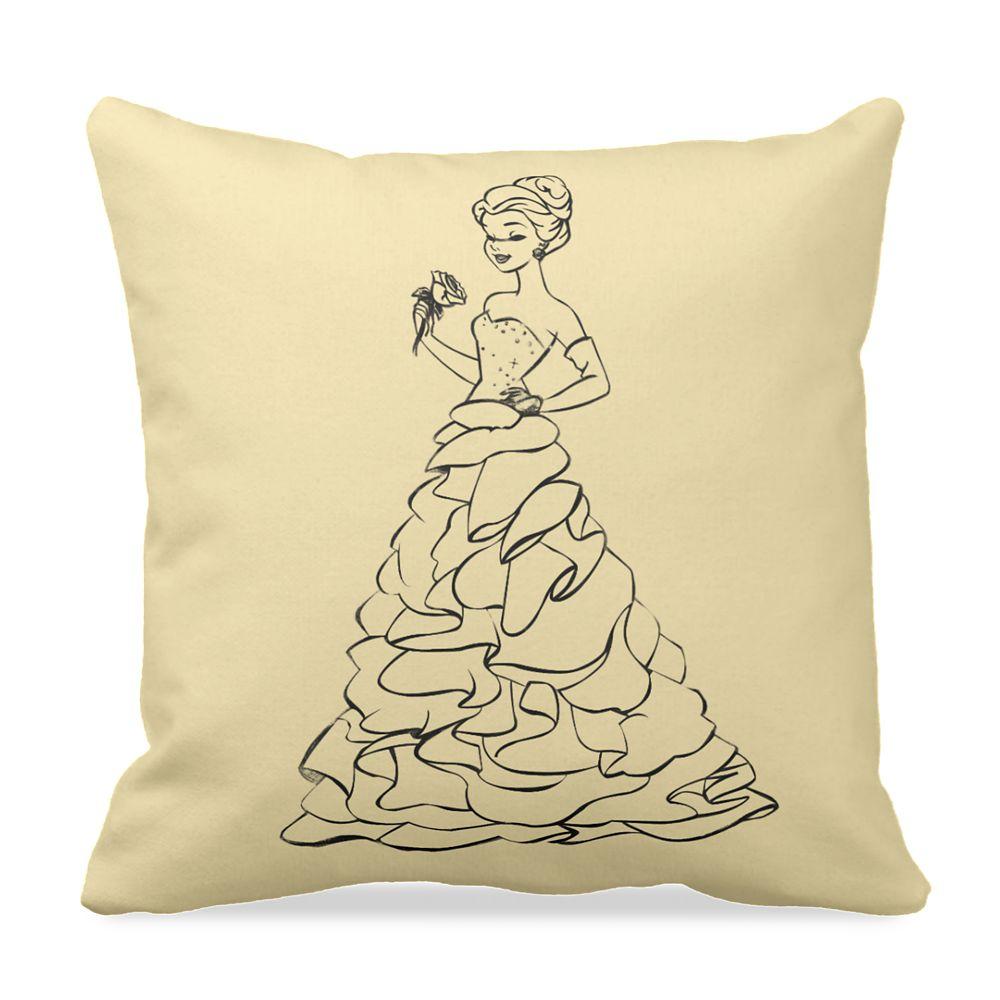 Belle Throw Pillow – Art of Princess Designer Collection