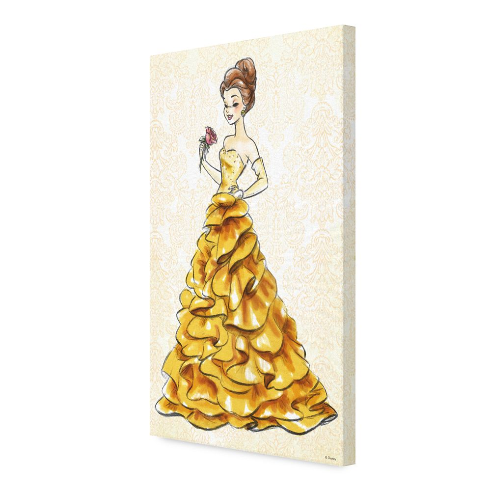 Belle Canvas Print – Art of Princess Designer Collection