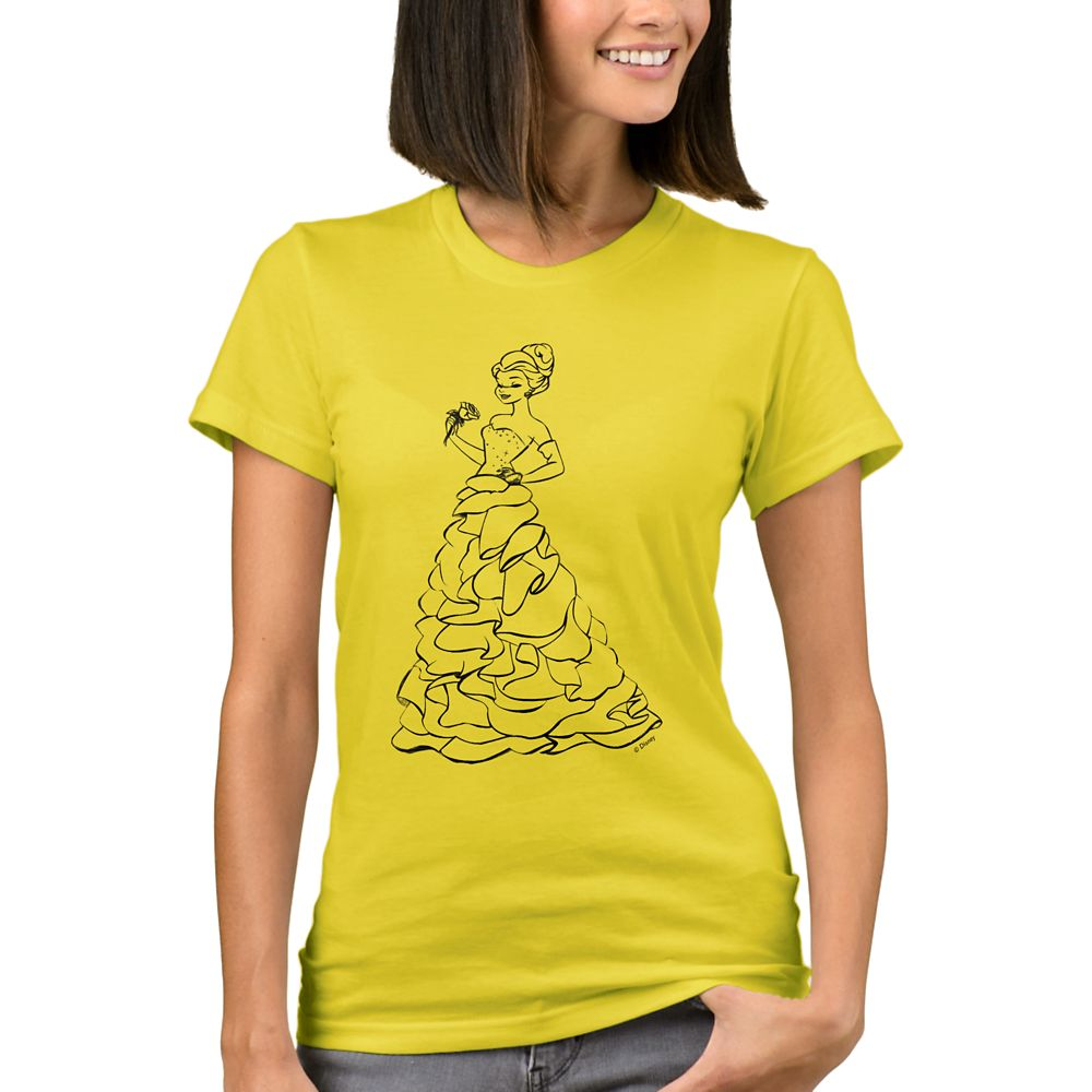 Belle T-Shirt for Women – Art of Princess Designer Collection