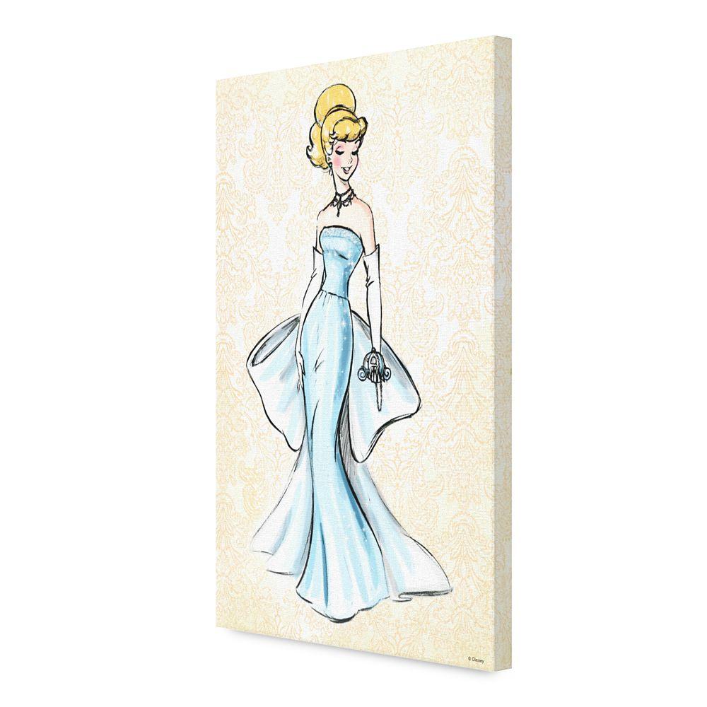 Cinderella Canvas Print – Art of Princess Designer Collection