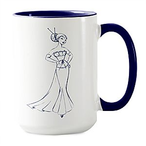 Mulan Mug - Art of Princess Designer Collection