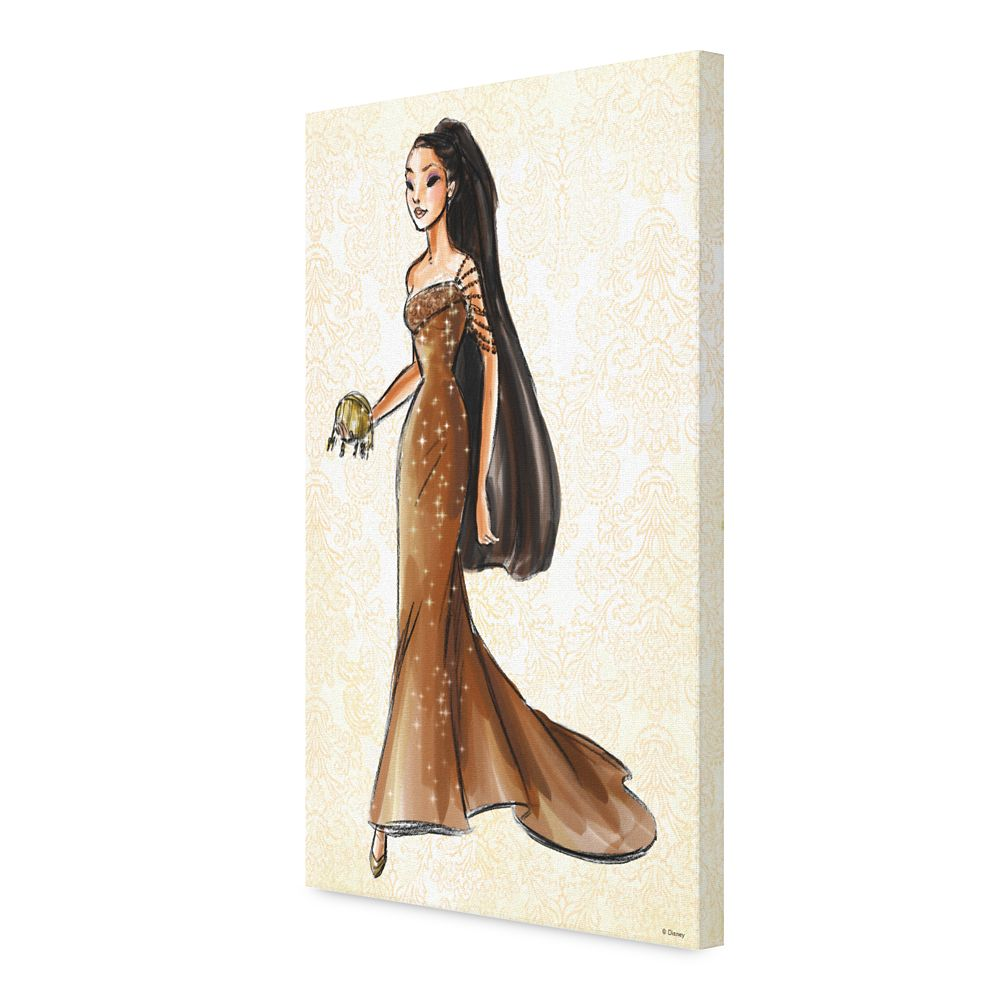 Pocahontas Canvas Print – Art of Princess Designer Collection