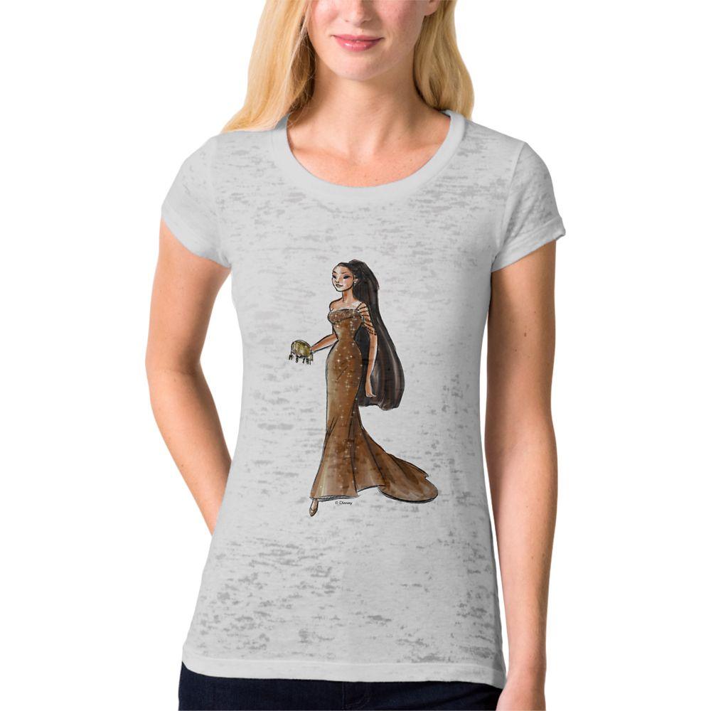 Pocahontas T-Shirt  Art of Princess Designer Collection Official shopDisney