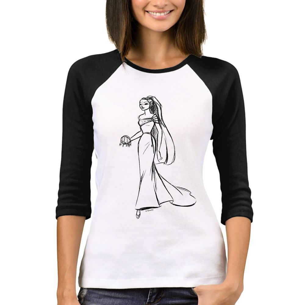 Pocahontas Raglan T-Shirt – Art of Princess Designer Collection