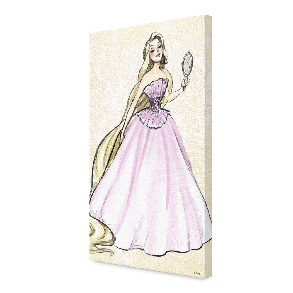 Rapunzel Canvas Print – Art of Princess Designer Collection