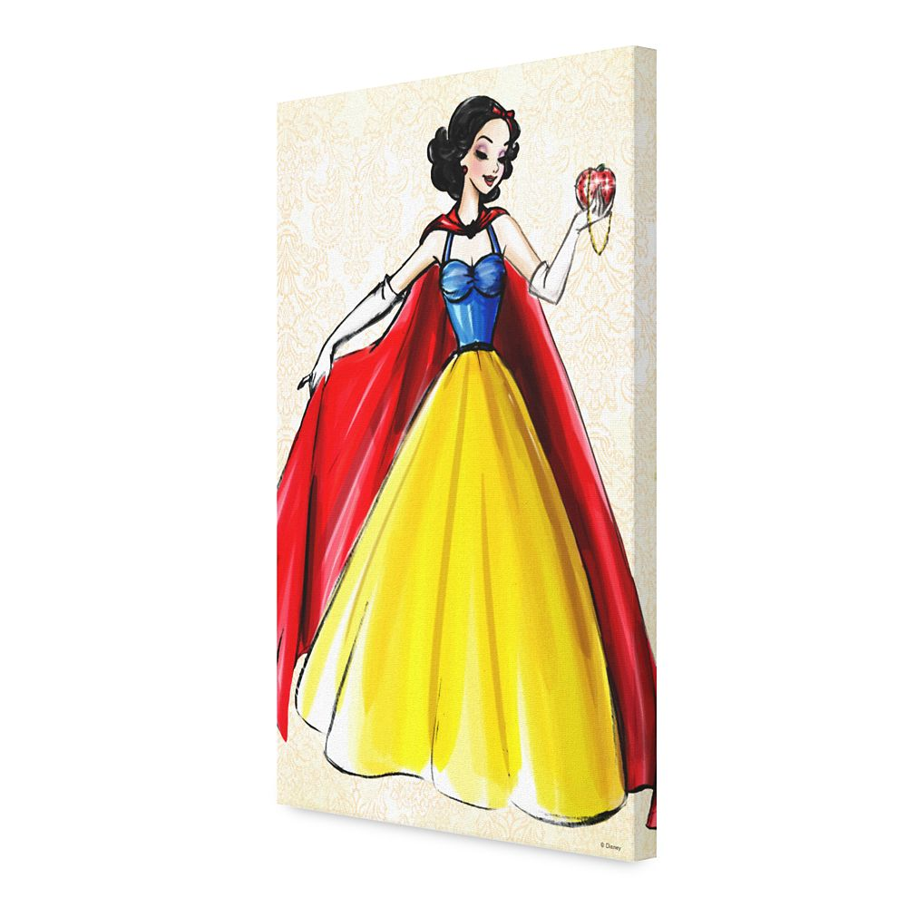 Snow White Canvas Print – Art of Princess Designer Collection
