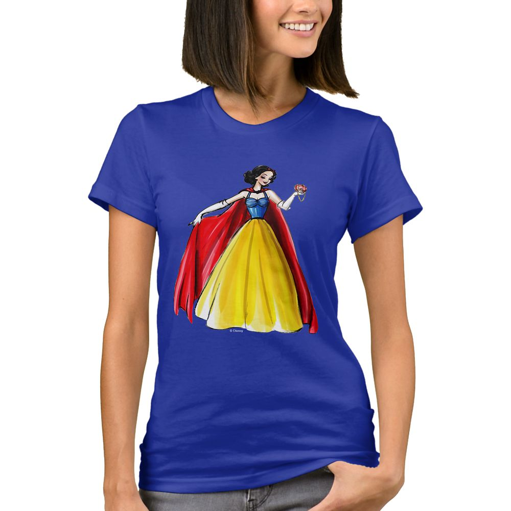 Snow White T-Shirt – Art of Princess Designer Collection