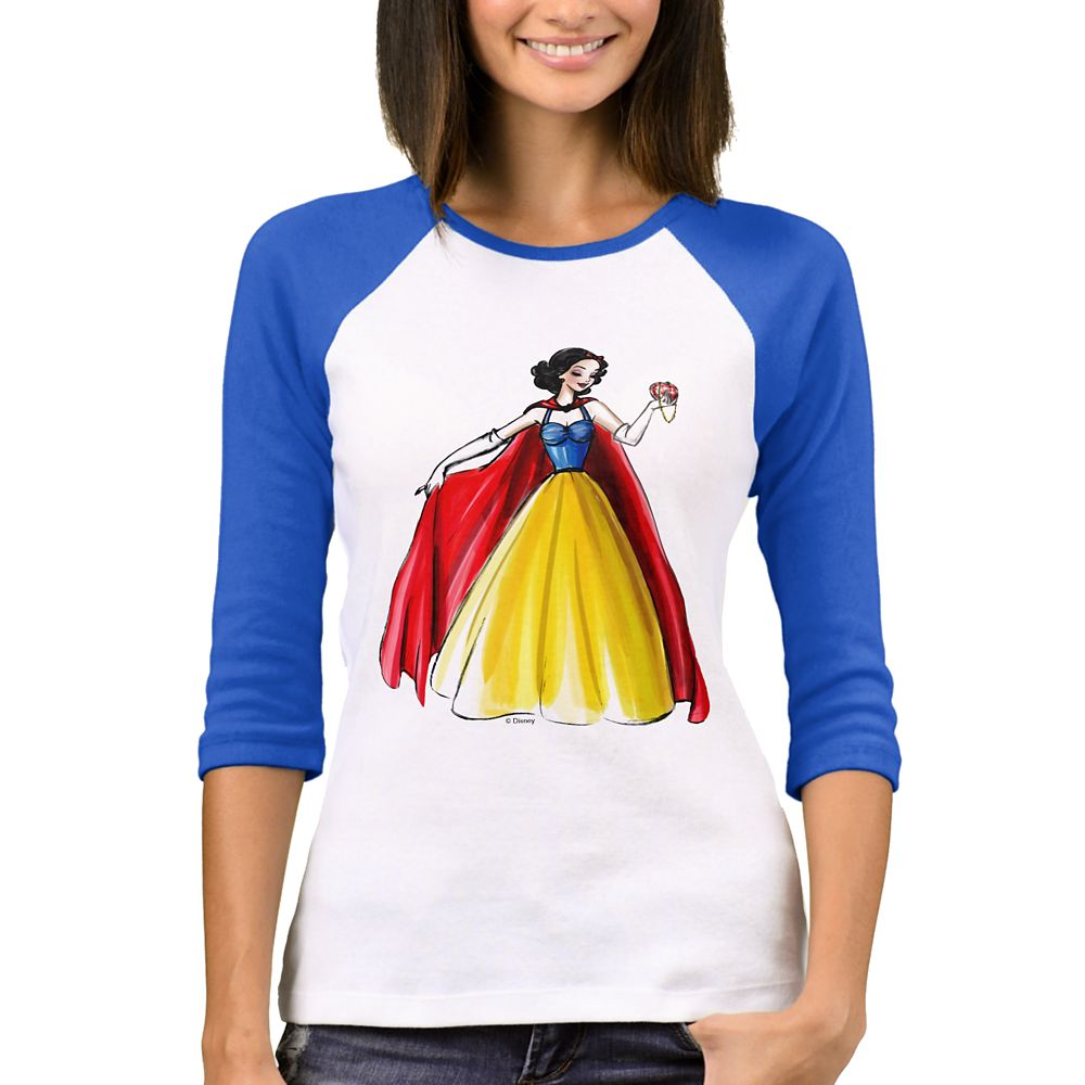 Snow White Raglan T-Shirt  Art of Princess Designer Collection Official shopDisney
