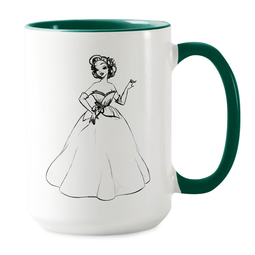 Tiana Mug  Art of Princess Designer Collection Official shopDisney