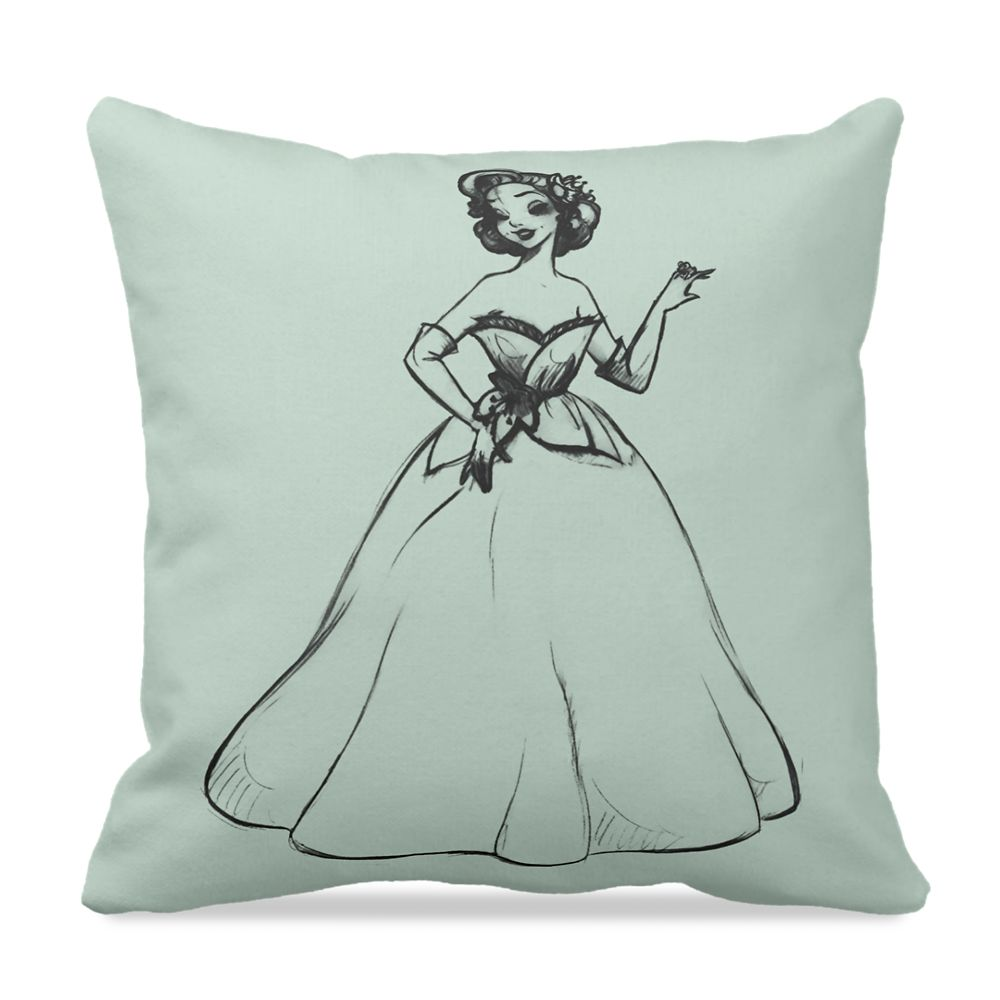 Tiana Pillow – Art of Princess Designer Collection