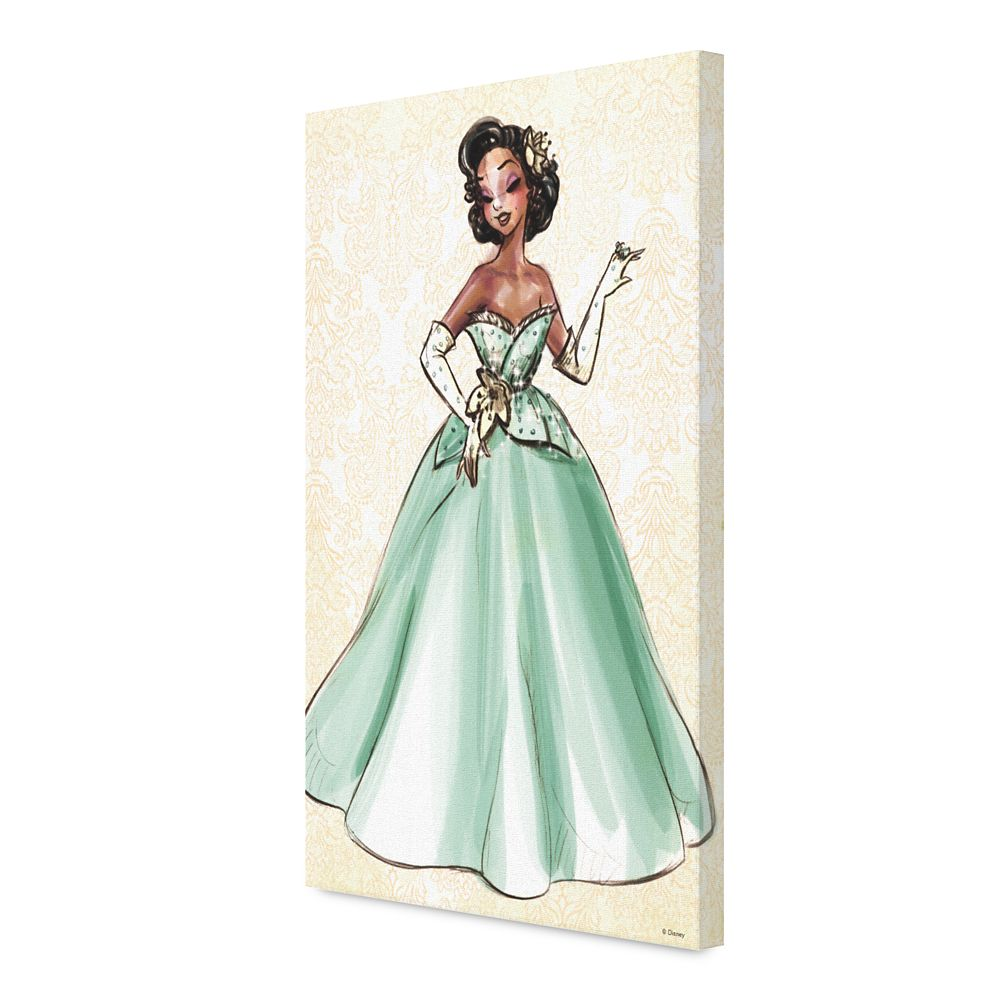 Tiana Canvas Print – Art of Princess Designer Collection