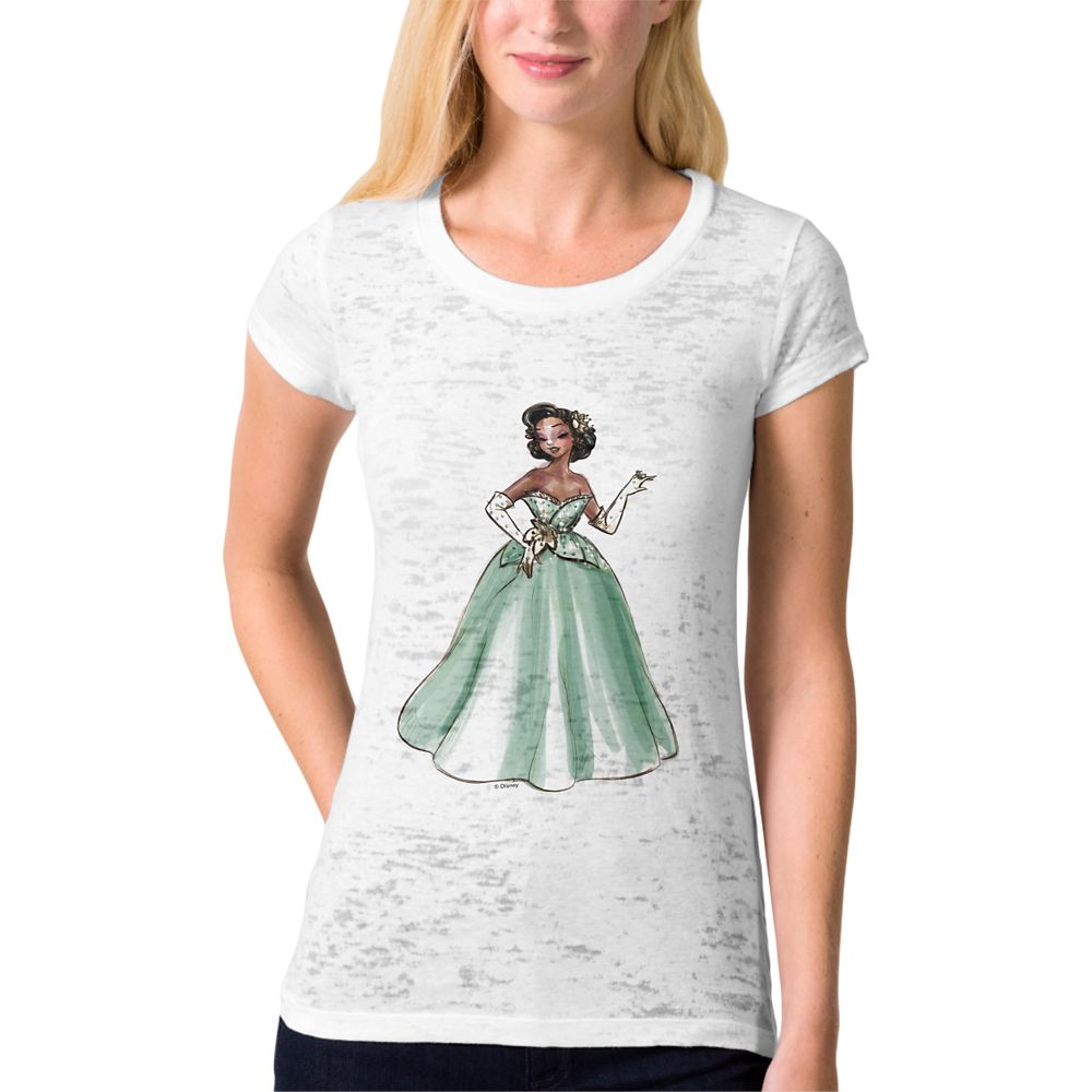 Tiana T-Shirt – Art of Princess Designer Collection