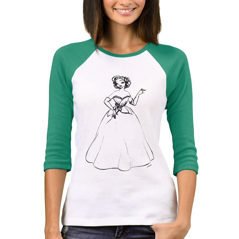 Tiana Raglan T-Shirt – Art of Princess Designer Collection