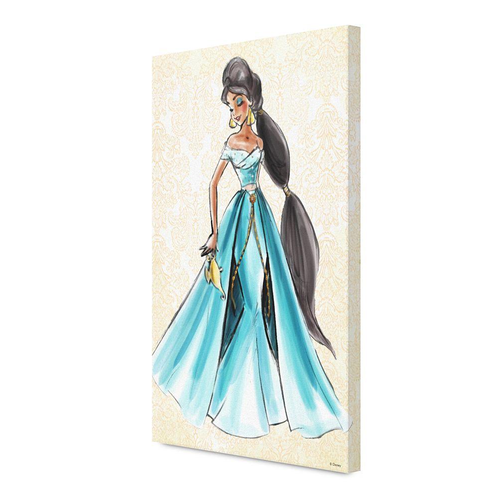 Jasmine Canvas Print  Art of Princess Designer Collection Official shopDisney