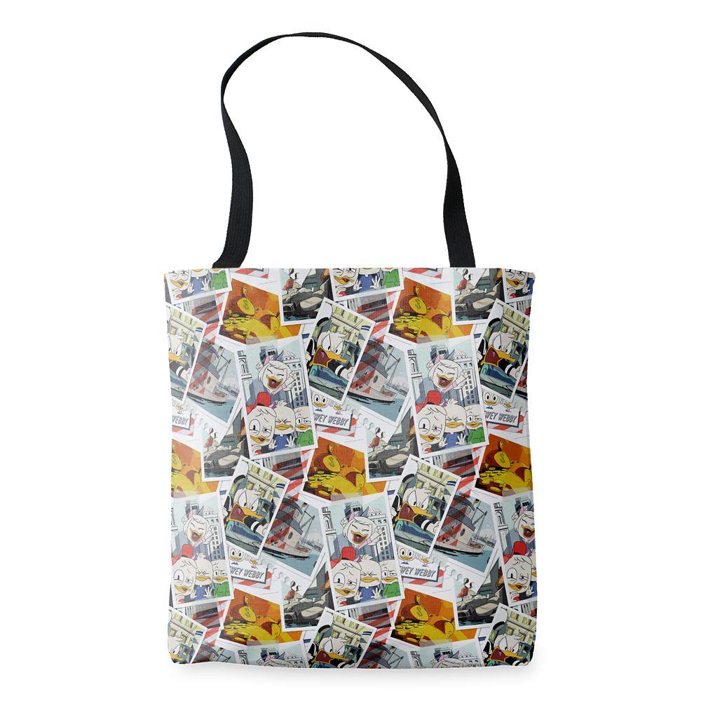 DuckTales Adventure Allover Print Tote Bag