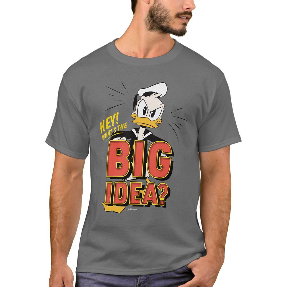 Donald Duck T-Shirt for Men – DuckTales – Customizable