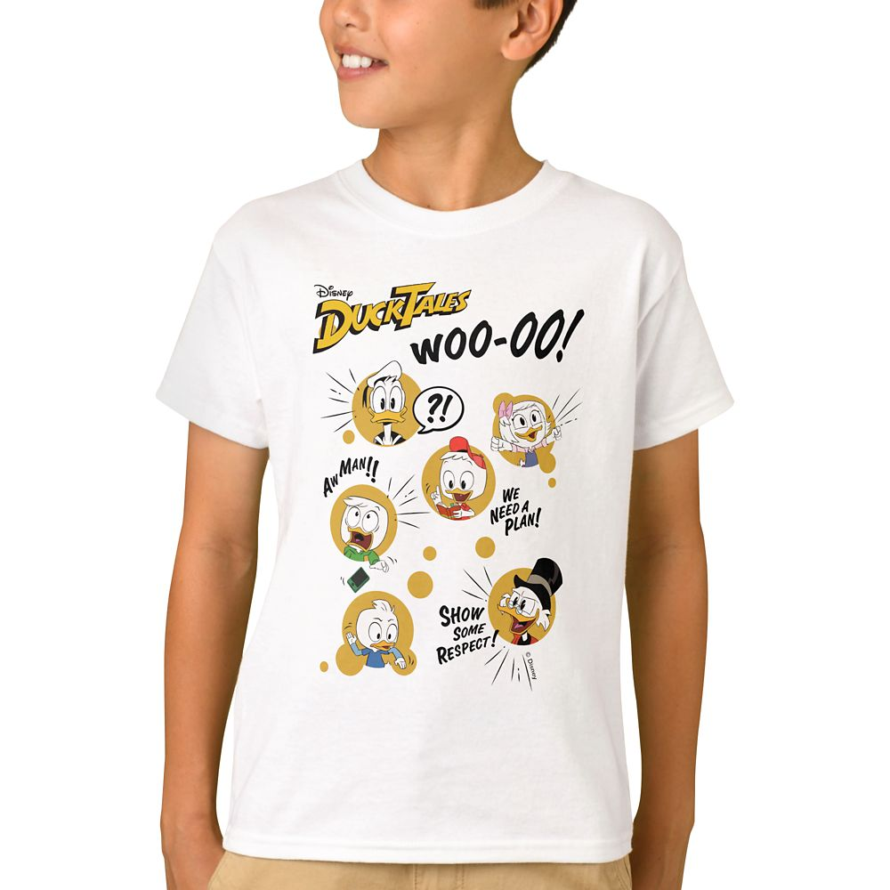 DuckTales Adventure T-Shirt for Kids  Customizable Official shopDisney