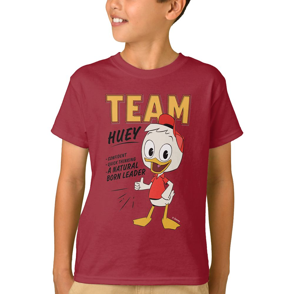 Team Huey T-Shirt for Kids – DuckTales – Customizable