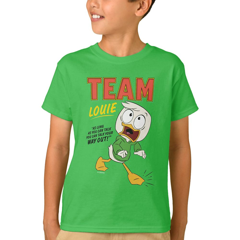 Team Louie T-Shirt for Kids – DuckTales – Customizable