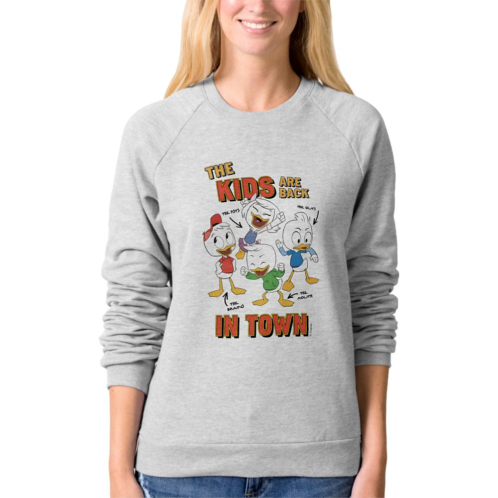DuckTales Raglan Sweatshirt for Women  Customizable Official shopDisney