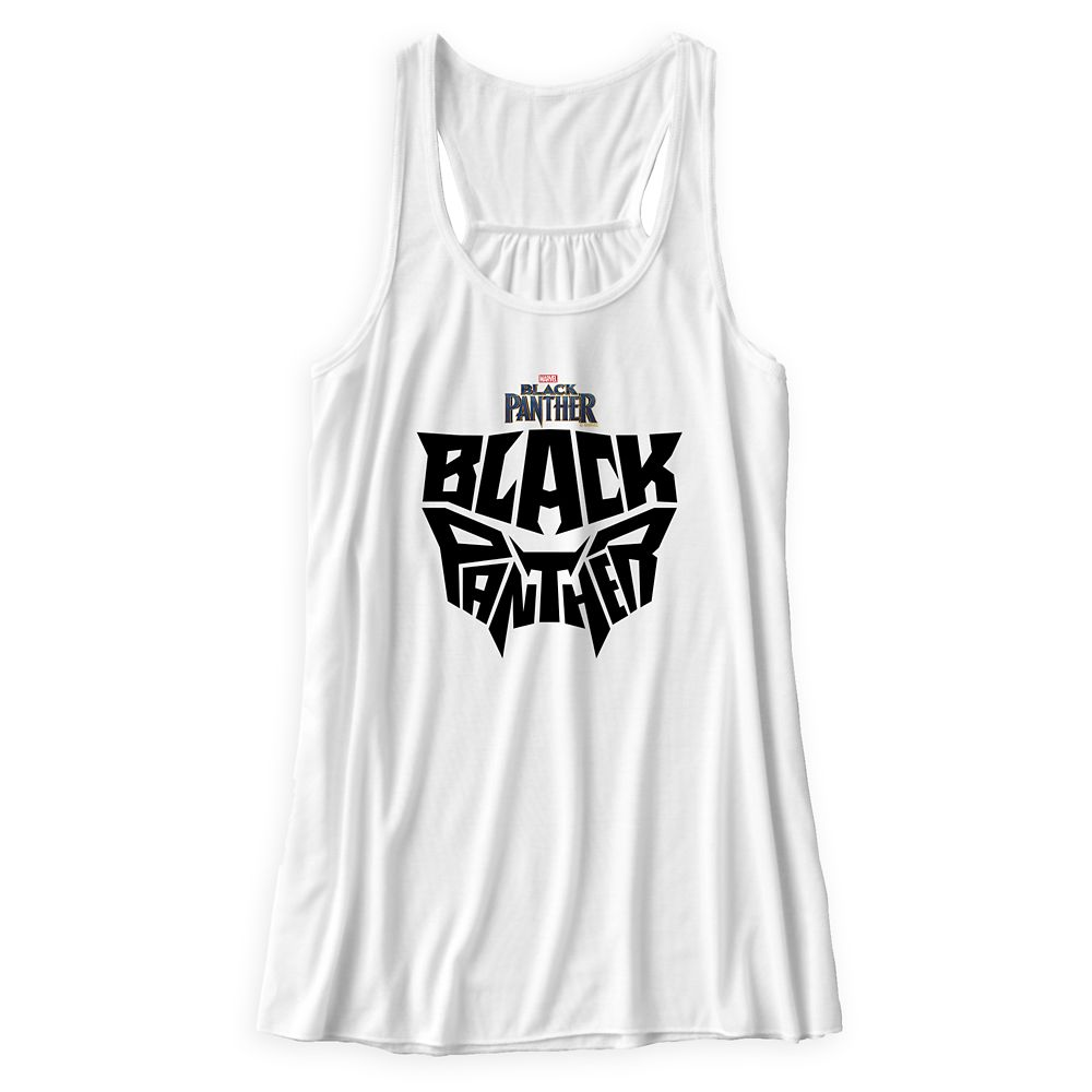 Black Panther Typography Tank Top for Women – Customizable