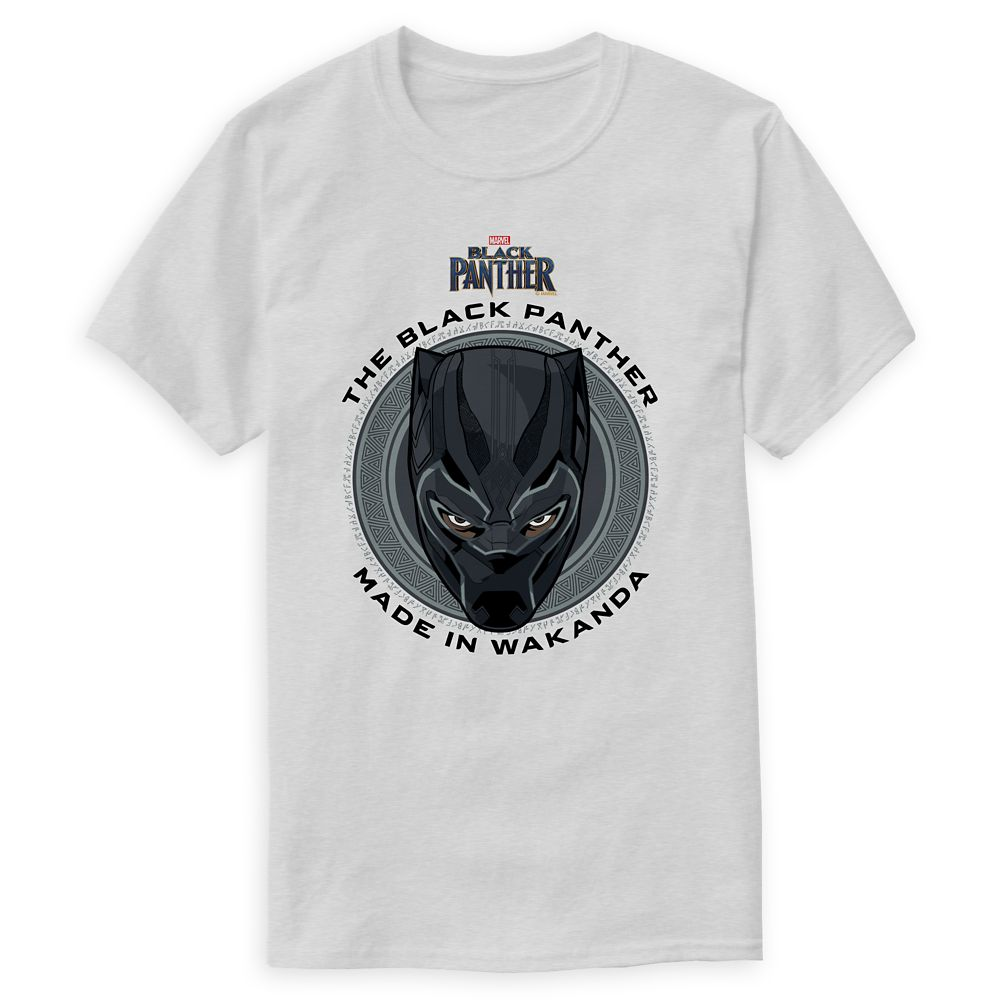 Black Panther Made in Wakanda T-Shirt for Men – Customizable