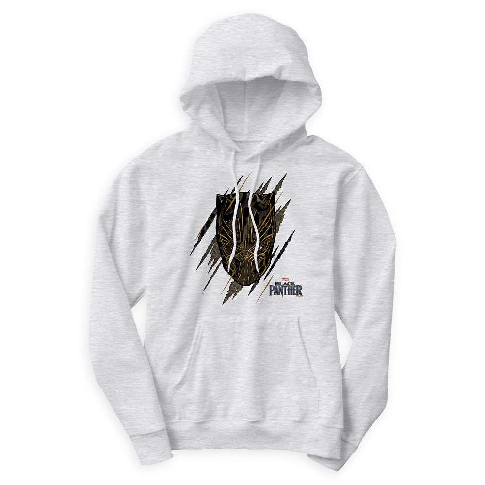 Black Panther Claw Marks Hoodie for Men  Customizable Official shopDisney