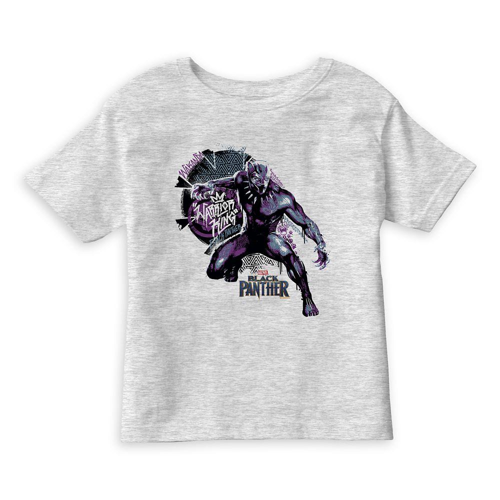 Black Panther Warrior King T-Shirt for Kids – Customizable