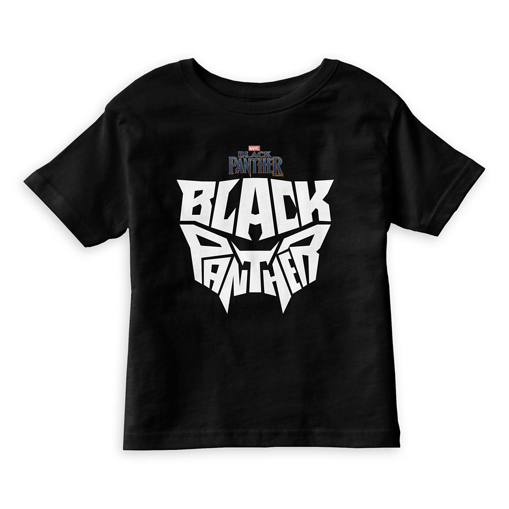 Black Panther Typography T-Shirt for Kids  Customizable Official shopDisney