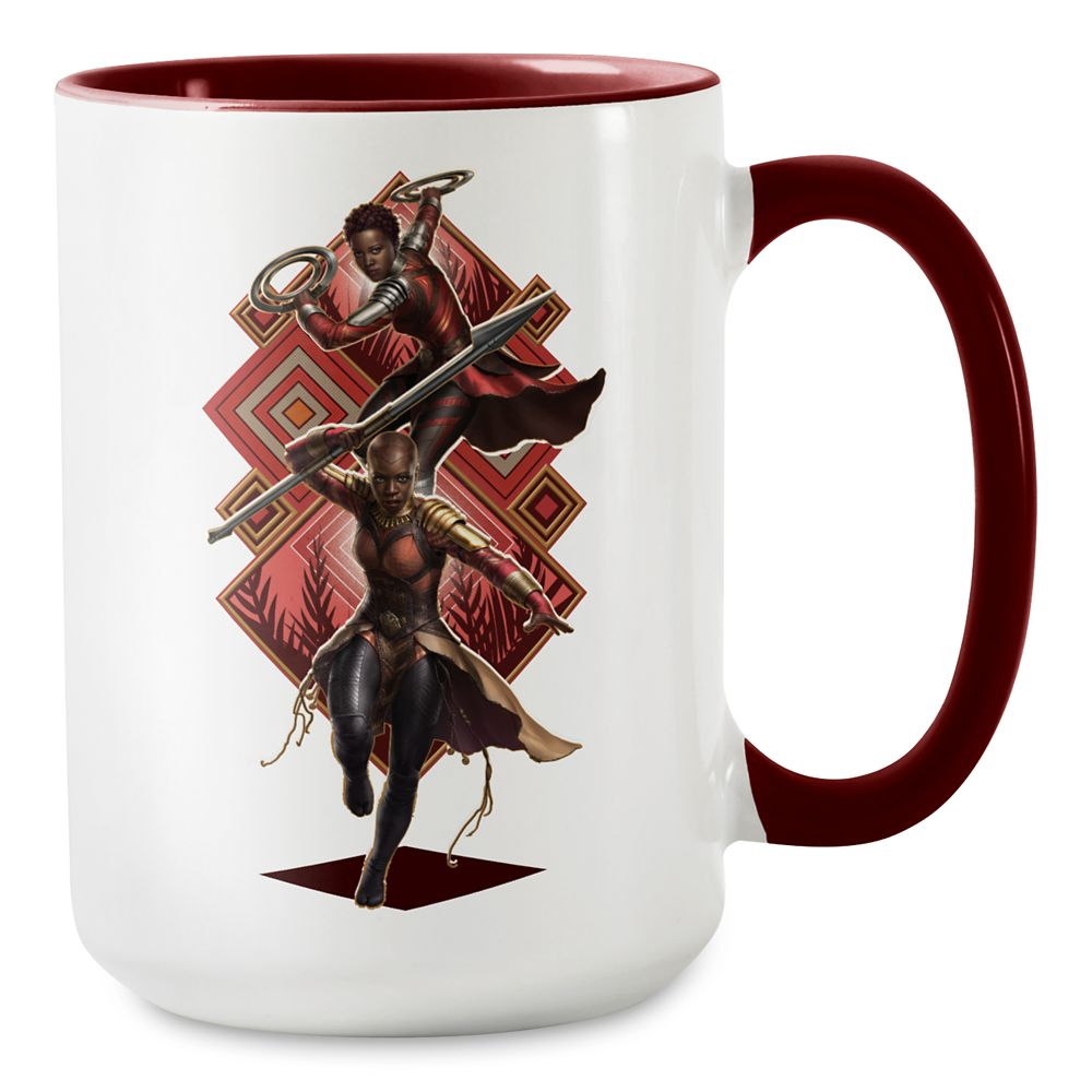 Black Panther Nakia and Okoye Mug – Customizable