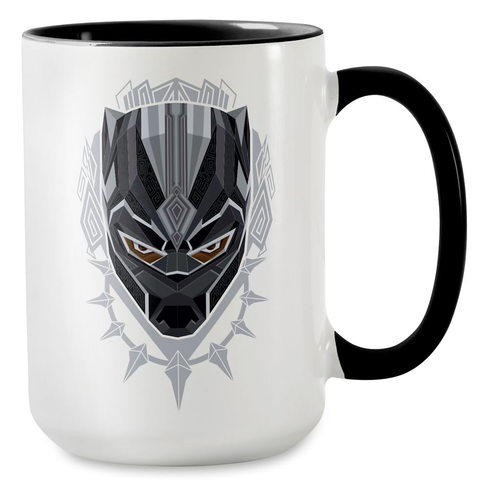 Black Panther Emblem Mug – Customizable